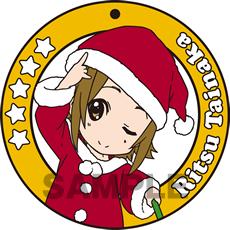 けいおん!! コースター型ラバーキーホルダー「田井中律」