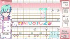 MUSIC2ゲーム画面