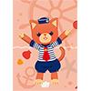 うたの☆プリンスさまっ♪ PRINCE CAT クリアファイル マリンVer.
