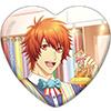 うたの☆プリンスさまっ♪ Shining Live トレーディングハート型缶バッジ Challenge☆アイドル×ショッピングモール アナザーショットVer.