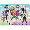 キャラクター万能ラバーマット ラブライブ!サンシャイン!!The School Idol Movie Over the Rainbow Ver.2