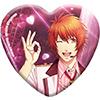 うたの☆プリンスさまっ♪ Shining Live トレーディングハート型缶バッジ スウィート♡バレンタインライブ アナザーショットVer.