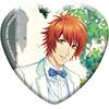 うたの☆プリンスさまっ♪ Shining Live トレーディングハート型缶バッジ Grateful White day アナザーショットVer.
