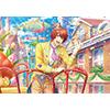 うたの☆プリンスさまっ♪ Shining Live トレーディングA5スタンドポストカード 花舞うイースターパレード アナザーショットVer.