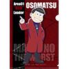 おそ松さん クリアファイル MATSUNO THE WORST ver.