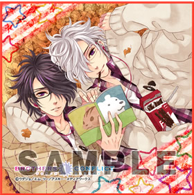 BROTHERS CONFLICT マイクロファイバーミニタオル「椿&梓」