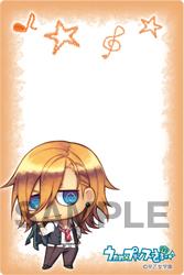 ブロッコリーiPhone用メールブロック うたの☆プリンスさまっ♪ ちみプリシリーズ「神宮寺レン」
