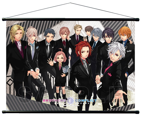 BROTHERS CONFLICT B2タペストリー「黒スーツ」