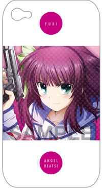 キャラクターiPhoneケースコレクション Angel Beats! 「ゆり」