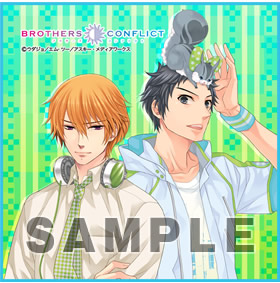 BROTHERS CONFLICT マイクロファイバーミニタオル「棗&昴」