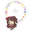 TVアニメ「アイドルマスター シンデレラガールズ」 ダイカットふせん ミニキャラVer.