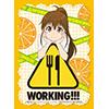 キャラクタースリーブコレクション WORKING!!!
