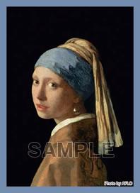 ブロッコリー ハイブリッドスリーブ フェルメール「真珠の耳飾りの少女」