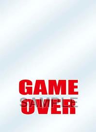 キャラクタースリーブプロテクター【世界の名言】 「GAME OVER」