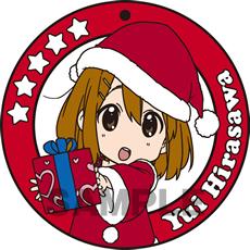 けいおん!! コースター型ラバーキーホルダー「平沢唯」
