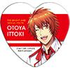 うたの☆プリンスさまっ♪ Shining Live トレーディングハート型缶バッジ