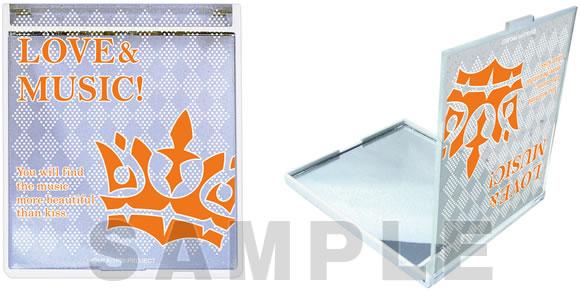 うたの☆プリンスさまっ♪マジLOVE1000%  コンパクトミラー パーソナルクラウン シリーズ 「神宮寺レン」