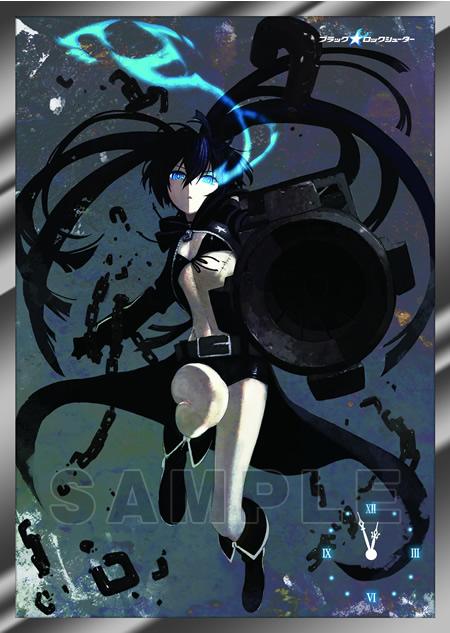 ブラック★ロックシューター A3パネル時計 「ブラック★ロックシューター」