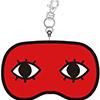 銀魂 ぬいぐるみパスケース「沖田のアイマスク」