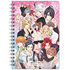 BROTHERS CONFLICT B6Wリングノート