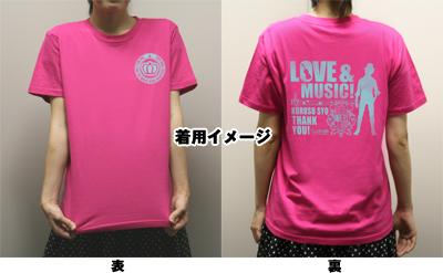 うたの☆プリンスさまっ♪ Tシャツ 着用イメージ