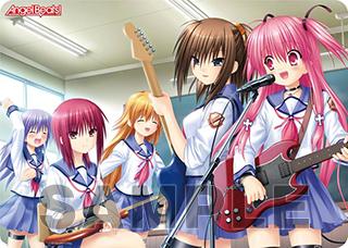 キャラクター万能ラバーマット Angel Beats!「Girls Dead Monster」