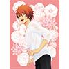 うたの☆プリンスさまっ♪ B5クリア下敷き Flower&Water Ver.