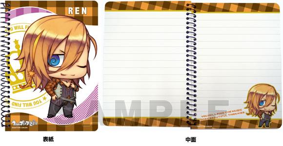 うたの☆プリンスさまっ♪ A6リングノート ちみプリシリーズVer.2「神宮寺レン」