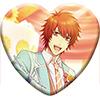うたの☆プリンスさまっ♪ Shining Live トレーディングハート型缶バッジ Sweet Café LIVE アナザーショットVer.